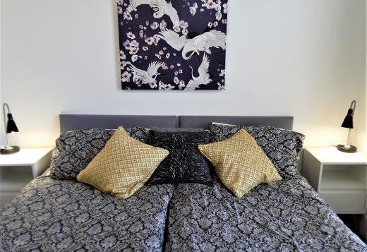 myrivierareatreat.co.uk self catering Torquay bedroom 17 twin